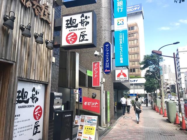 SMBCモビット 目黒駅前コーナー